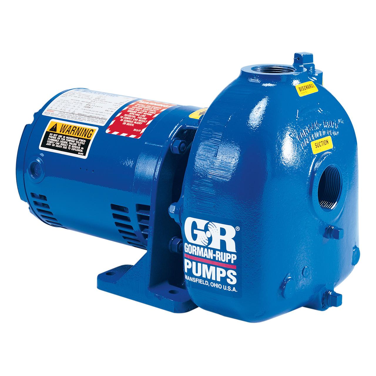 AMT/Gorman Rupp Cast Iron 1 1/2 in  1 HP Self-Priming 3450 RPM Centrifugal  Flammable Liquids Pumps