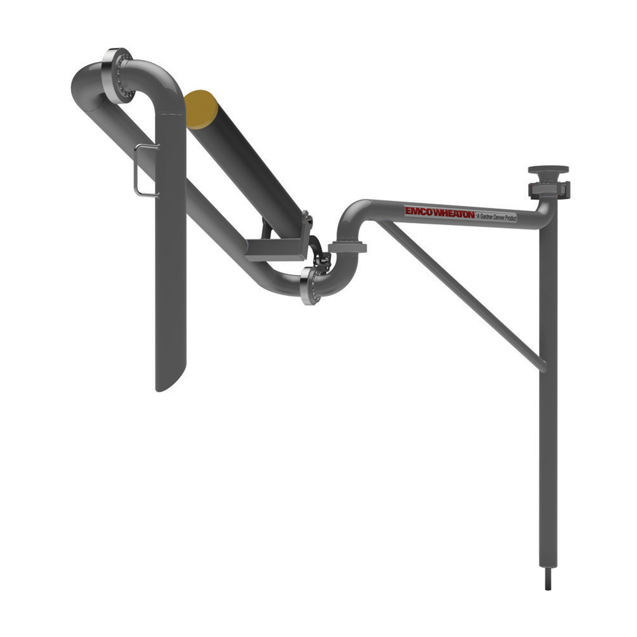 Emco Wheaton E2025 Carbon Steel Supported Boom Top Loading