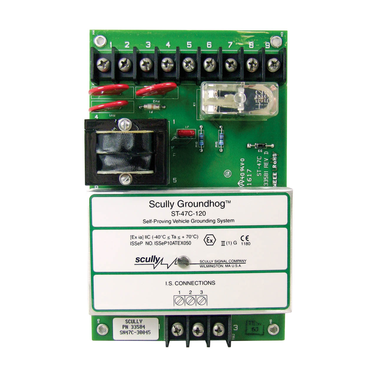 scully st 47 replacement module for groundhog static ground proving control unit 115 vac models Power Mirror Wiring Diagram