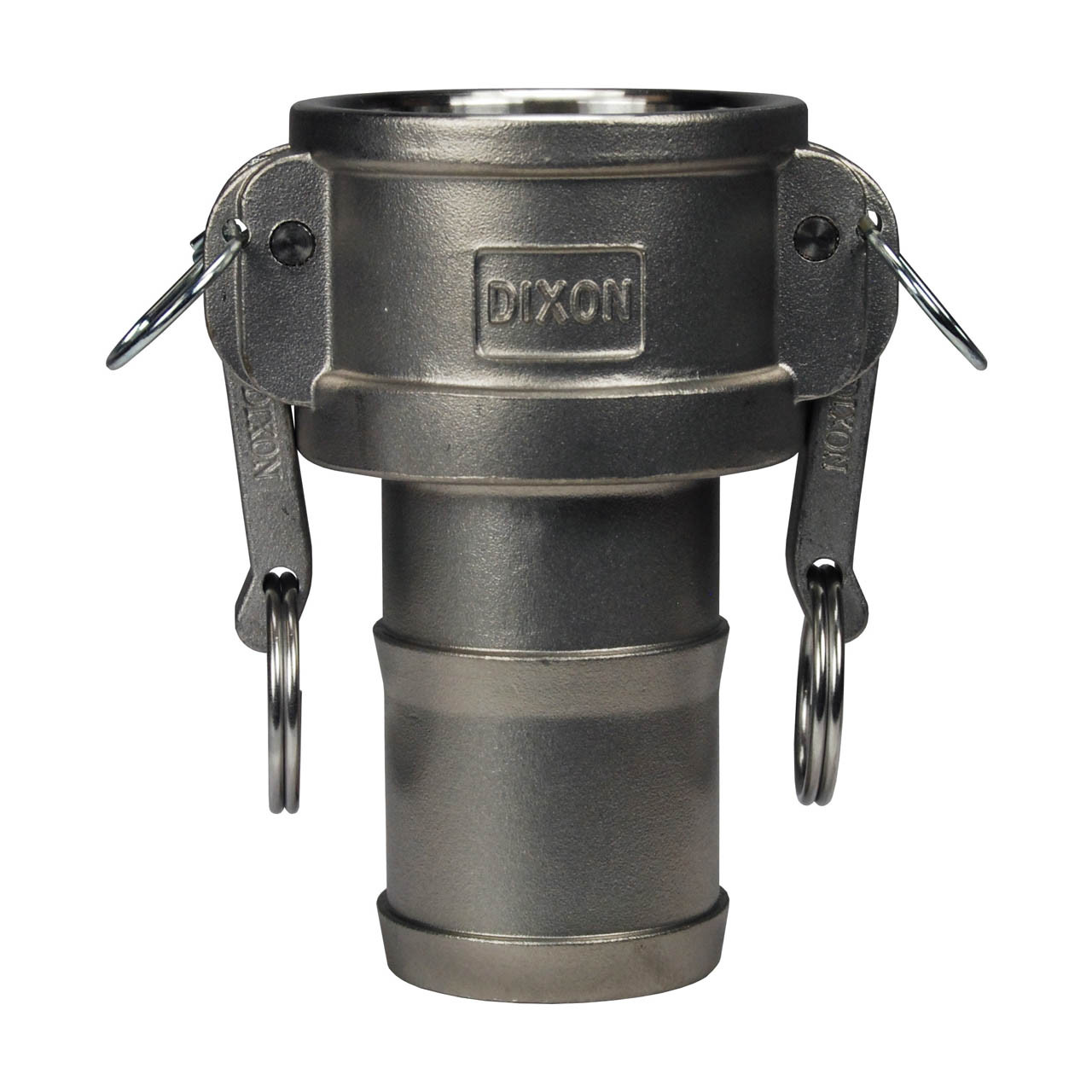 Dixon G200-F-SS Investment Cast Stainless Steel 316 Global Type F Cam and Groove Hose Fitting 2 Plug x 2 NPT Male