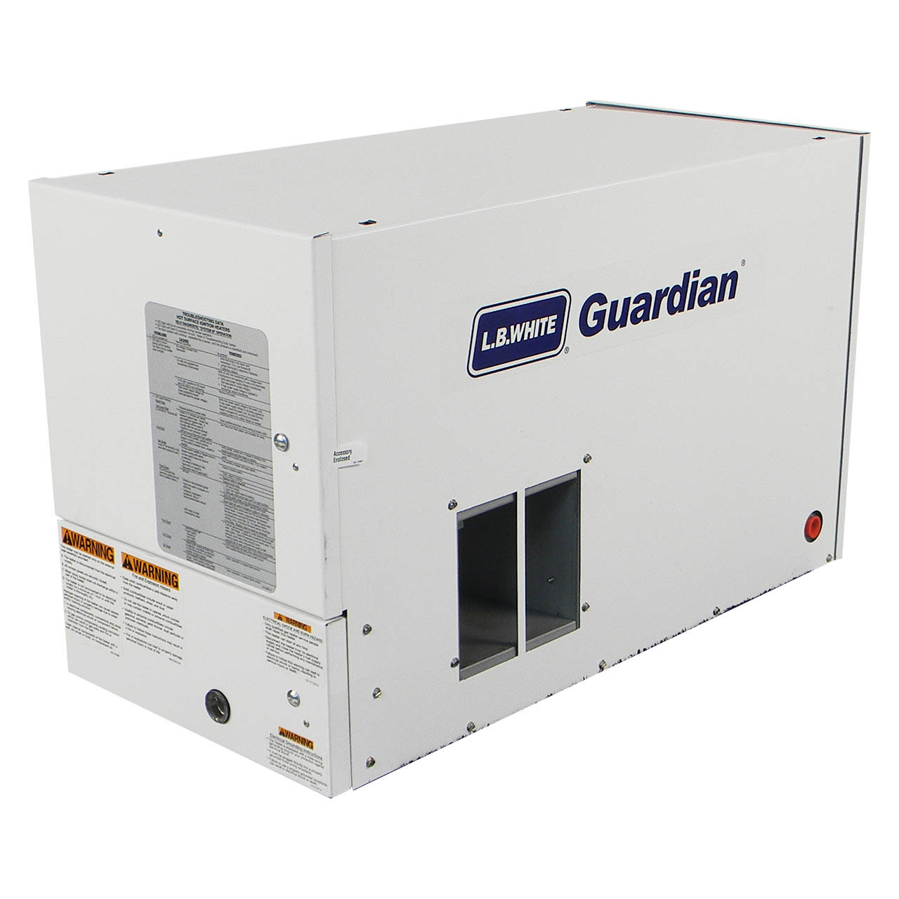 100,000 BTU LP LB White Guardian 100 Forced Air Heater w// Hot Surface Ignition