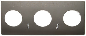 Dixon Polished Chrome Plated Auto-Sprinkler Wall Plate For Concealed (Flush) Fire Department Connections