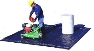 Ultra-Containment Berm Foam Wall Model - Foam Wall Ultra-Containment Berm - 9 ft. 10 in. x 11 ft.  x 2 in. - 88 gallons