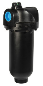 Dixon Wilkerson 2 in. M35 Heavy Duty Coalescing Filter with Metal Bowl - Auto Drain