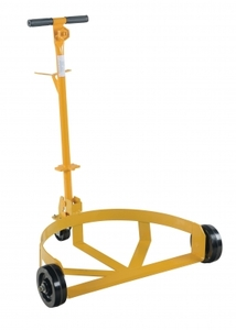 Vestil Lo-Profile Drum Caddy with Phenolic Wheels