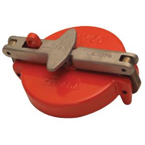 Dixon 4 in. Nylon Vapor Cap (Orange)