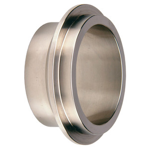 Dixon Sanitary 14WI Series 1 in. Male I-Line Short Weld Ferrules - 304 SS - 304 Stainless Steel - 1 in.