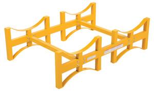 Vestil Steel 2 Drum Rack