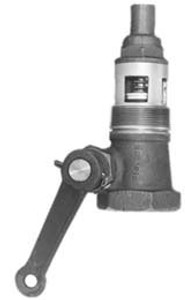 Morrison Bros. 2 in. Straight Style Emergency Valve w/ PTFE Disc