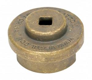 Vestil Drum Bung Socket - Non-Sparkling Bronze Alloy - 3/8 in. Drive