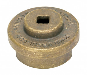 Vestil Drum Bung Socket - Non-Sparkling Bronze Alloy - 1/2 in. Drive
