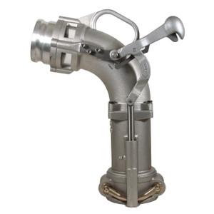 Dixon Bayco Self-Locking Drop Elbow w/ 4 in. Adapter - 21 in. H
