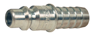 Dixon Air Chief Steel Industrial Quick-Connect Plug 1/4 in. Hose Barb x 3/8 in. Body