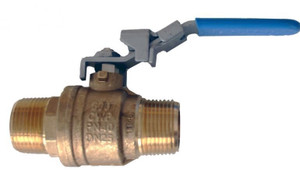 Morrison Bros. 1 in. M x 1 in. M Barrel Faucet Ball Valve - Straight