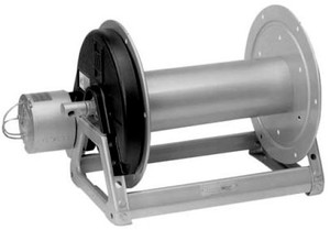 Hannay 1500 Series  1/2 in. x 175 ft. 12V Electric Rewind Reel E1520-17-18
