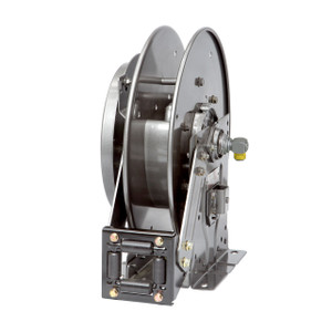 Hannay Reels N700 Series Spring Rewind Reel, Reel Only, 1/2 in. x 65 ft., N716-23-24-15.5J