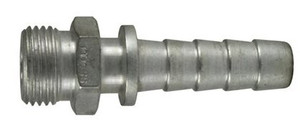 Dixon Plated Steel Spray Hose Coupler 1/2 in. Male NPSM Thread x 1/2 in. Hose Shank