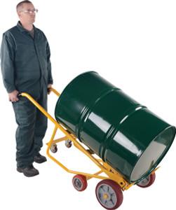Vestil Multi-Purpose Drum Truck with Steel Wheels