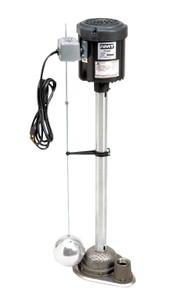 AMT Industrial/Commercial Sump Pump - 84 GPM - 29 in. - Stainless Steel