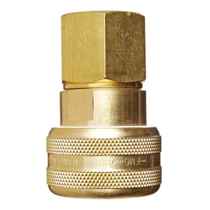 Dixon Air Chief Brass Industrial Auto Coupler 3/4 in. Female NPT x 3/4 in. Body Size