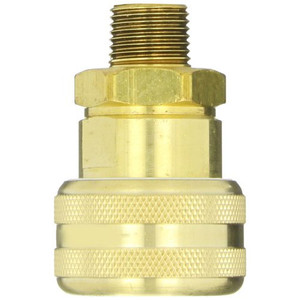 Dixon Air Chief Brass Industrial Auto Coupler 1/2 in. Male NPT x 3/4 in. Body Size