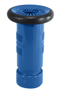 Dixon 1 1/2 in. NH (NST) Blue Thermoplastic Refinery Fog Nozzle FM Approved