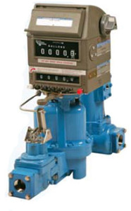 Liquidynamics DEF Stainless Steel Meter w/ Preset and Mechanical Register