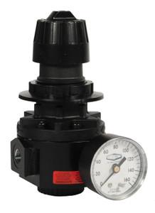 Dixon Wilkerson 3/8 in. R26 High Pressure Standard Regulator With Gauge