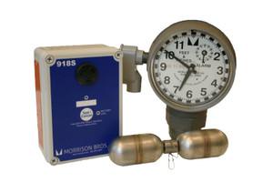 Morrison Bros. 918 Series 2 in. Male NPT Clock Gauge Alarm w/ Standard Float - Feet & Inches