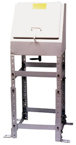 Clay & Bailey 6100 Series 7 Gal 3 in. Remote Spill Containment - No Coating/Mild Steel