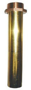 1 1/2 in. Brass Threaded Nozzle Tube