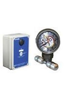 Morrison Bros. 918 Series 2 in. Female NPT Clock Gauge Alarm w/ Standard Float - Meters & Centimeters