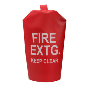 United Fire Safety Cover For 5 to 10 lb. D.C. Fire Extinguisher