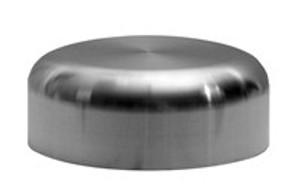 Dixon Sanitary High Purity BioPharm Weld Cap - PL Finish- SF1 - 1 in.