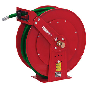 Reelcraft Dual Pedestal Fuel Hose Reels - Reel With 3/4 in. x 50 ft. BC Marina Hose
