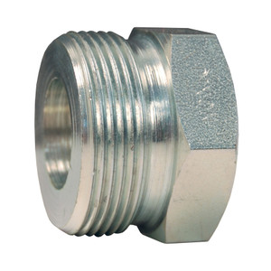 Dixon Boss Plated Iron Washer Seal Female Spud - 1 1/2 in. Wing Nut Thread x NPT