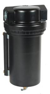 Dixon Series 1 F17 1 in. Jumbo Filter with Metal Bowl & Sight Glass - Manual Drain