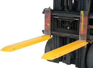 Vestil Manufacturing Fork Extension - 4 in. - 66 in. - 4.5 in.