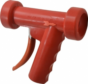 Superklean 150 Series Standard Spray Nozzle - Stainless Steel - Red