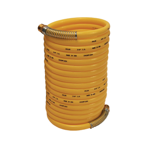 Dixon 1/4 in. x 25 ft. Coil-Chief Self-Storing Air Hose