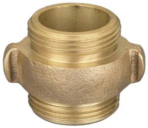 Dixon Powhatan 2 1/2 in. NPSH x 2 1/2 in. NPSH Rocker Lug Brass Double Male Adapters