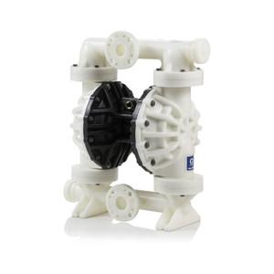 Husky Polypropylene 1050 Air Diaphragm Pump w/ Polypropylene Seats and Santoprene Diaphragms