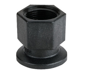 Banjo Poly 3 in. Standard Poly Flange x 3 in. Female NPT Fitting