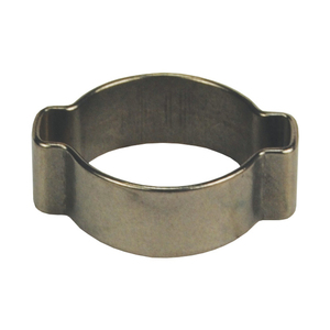 Dixon 1 1/2 in. 304 Stainless Steel Pinch-On Double Ear Clamp - 100 QTY