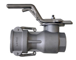 Morrison Bros. 928 Series 2 1/2 in. Aluminum Dry Disconnect Coupler