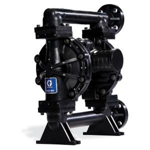 Husky Conductive Polypropylene 1050 Air Diaphragm Pump w/ Stainless Steel Seats and PTFE Diaphragms