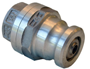 Morrison Bros. 927 Series 2 1/2 in. Stainless Steel Dry Disconnect Adapter w/ Viton Seals