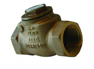 Morrison Bros. 246 Series 1 1/2 in. NPT Threaded Swing Check Valve w/ 25 PSI Relief