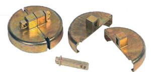 Justrite Drum Lock - Plastic Drum Set - Plastic drum set - 2 units to fit 2 in. NPT Bung