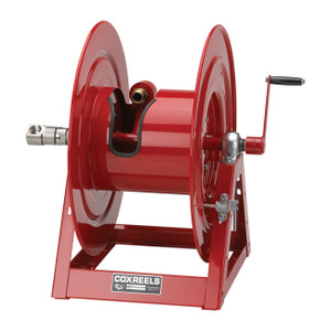 Coxreels 1185 Series Hand Crank Booster Hose Reel - Reel Only - 1 1/4 in. x 325 ft., 1 1/2 in. x 250 ft.